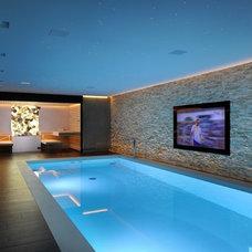 Contemporary Pool by Prestige Saunas Ltd