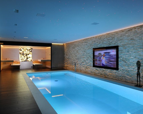 European luxury indoor swimming pools home design ideas for Swimming pool home decor
