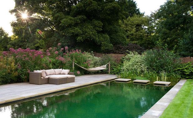Traditional Pool by Amanda Patton Landscape & Garden Design