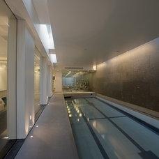 Modern Pool by Olive Audio Visual