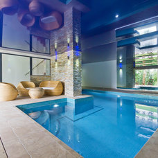 Contemporary Pool by Neil Mac Photo