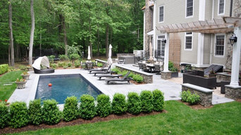 NEW CANAAN POOL PARADISE