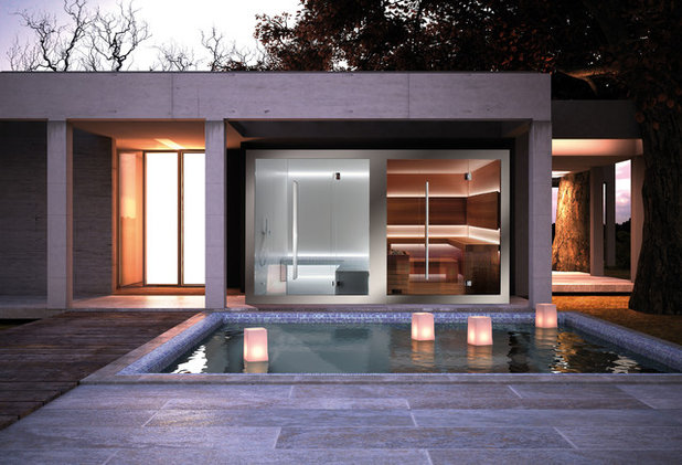 Minimalistisch Pools by Carmenta Wellness