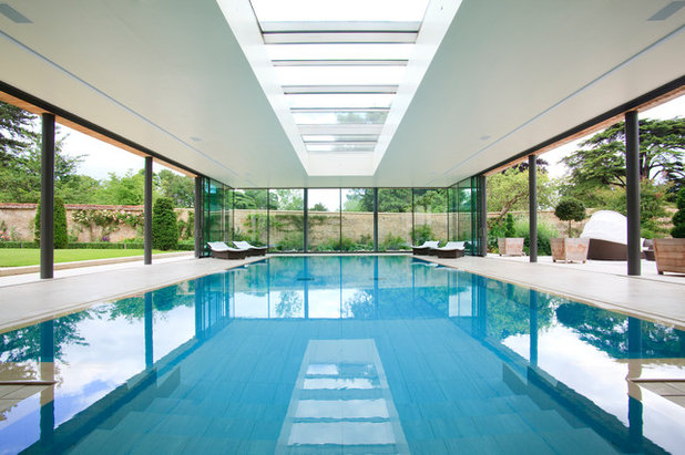 Contemporary Pool by Yiangou Architects