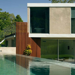 modern pool by David Churchill - Architectural  Photographer
