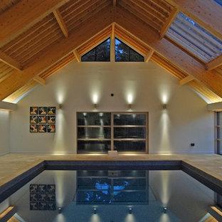 Идея дизайна: бассейн в скандинавском стиле