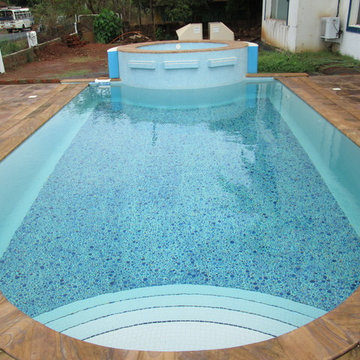Ready Made Tiled pool