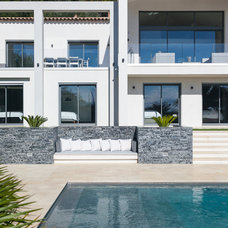 Contemporary Pool by Urban Cape