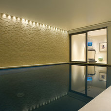 Transitional Pool by Inspired Dwellings