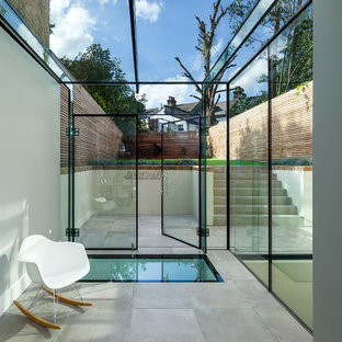 Inspiration for a contemporary swimming pool in London.