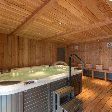 Western Red Cedar creates stylish facilities building at countryside hotel