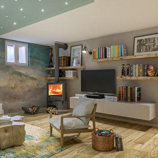 Legno e colore per la nuova casa - progetto in corso