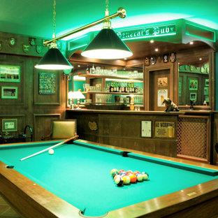 Sala Hobby in stile Pub Inglese