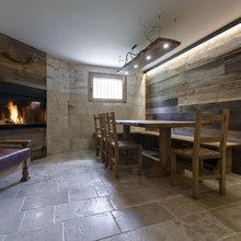Angolo cucina della Taverna con top in pietra ...