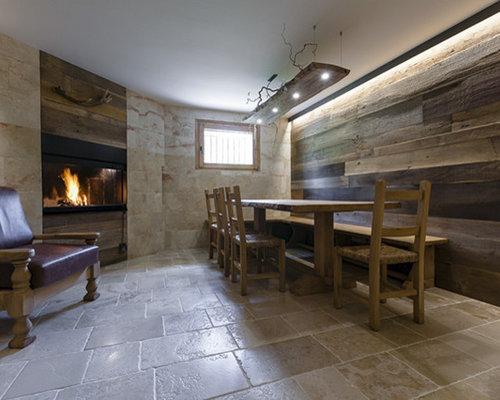 Pavimenti per taverne moderne cucina in muratura u idee per