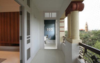 Houzz Tour: An Art Deco Mumbai Home Gets a Sublime Makeover