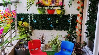Cleo County, Sector 121, Balcony Decoration