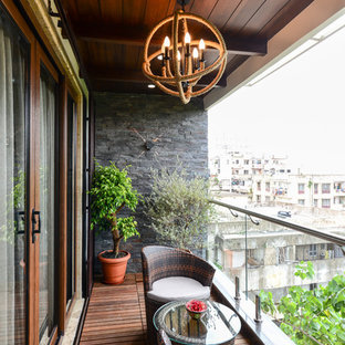 75 Beautiful Balcony With A Roof Extension Pictures Ideas October 2020 Houzz