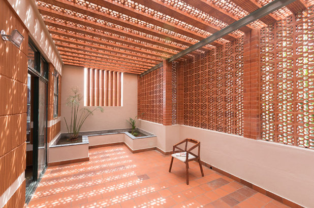 Indian Balcony by Wright Inspires