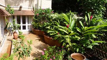 Lakshmi's Tropical Terrace Garden
