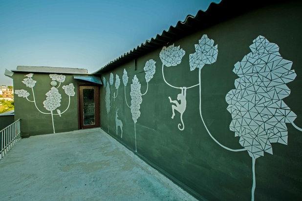 Eclectic Terrace by Shan Bhatnagar Designs