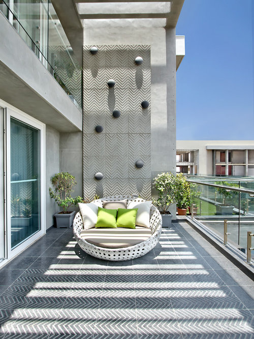 Best Large Balcony Design Ideas & Remodel Pictures
