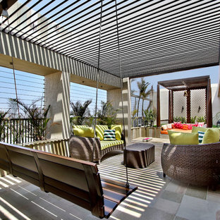 Photo of a contemporary deck in Other.