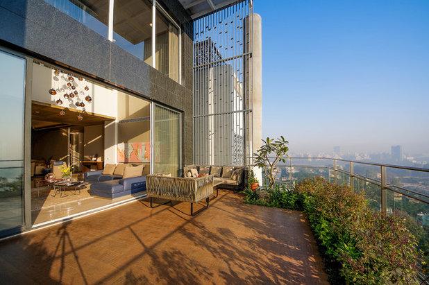 Contemporary Balcony by TAO Architecture Pvt. Ltd.