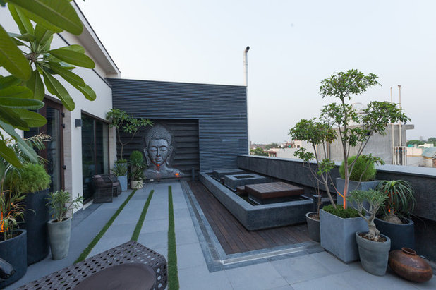 Contemporary Terrace by Essentia Environments