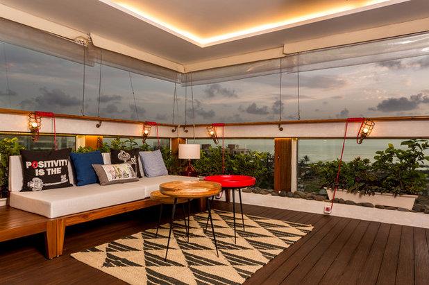 Eclectic Terrace by Shabnam Gupta