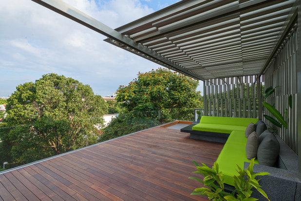 Contemporary Terrace Strata
