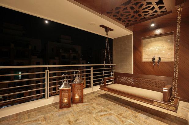 Contemporary Balcony by studio 7 designs