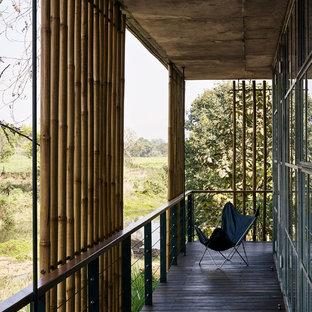 Foto di un privacy sul balcone contemporaneo