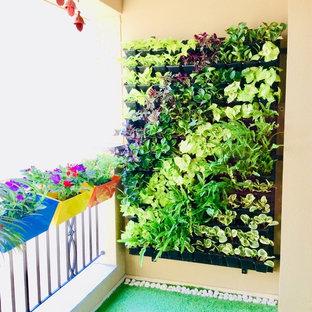 Inspiration för asiatiska balkonger
