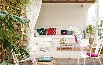 Convierte tu terraza en un edén con muy poco esfuerzo