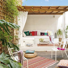 Eclectic Deck by Vuong Interior Design