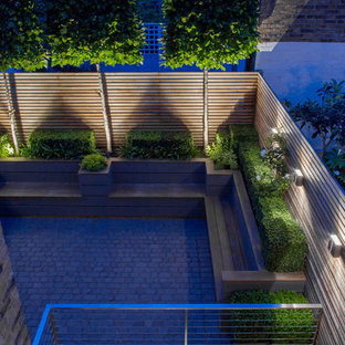 This is an example of a traditional terrace and balcony in London.