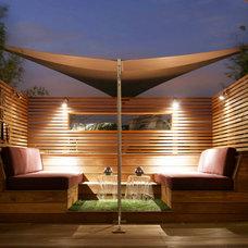 Contemporary Deck by London Garden Designer