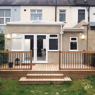 Example of an ornate deck design in London