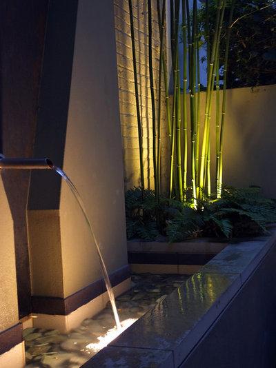 Contemporary Terrace & Balcony by MyLandscapes - Amir Schlezinger
