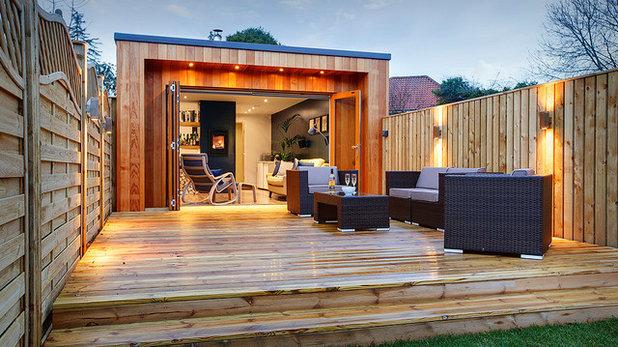Contemporary Deck Contemporary Terrace