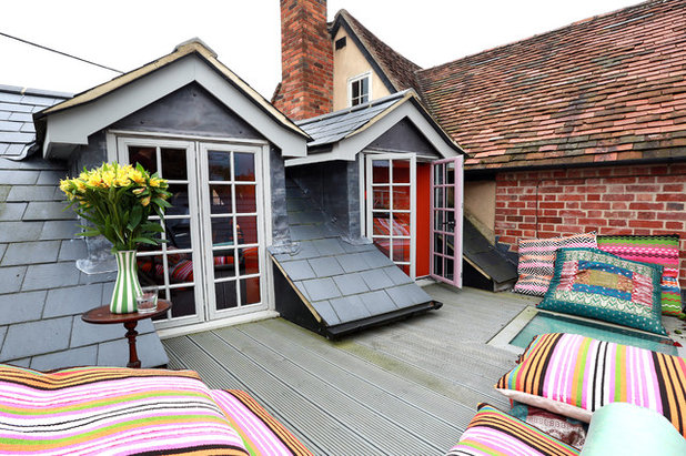 Eclectic Terrace by Alex Maguire Photography