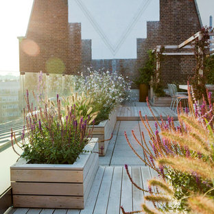 Large roof terrace in London