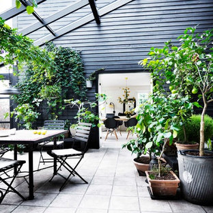 Inspiration for a scandinavian deck remodel in Odense