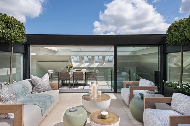 Modern Terrasse by Olivier Dassance Photography