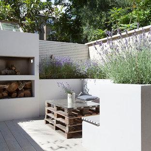 Immagine di una terrazza minimal