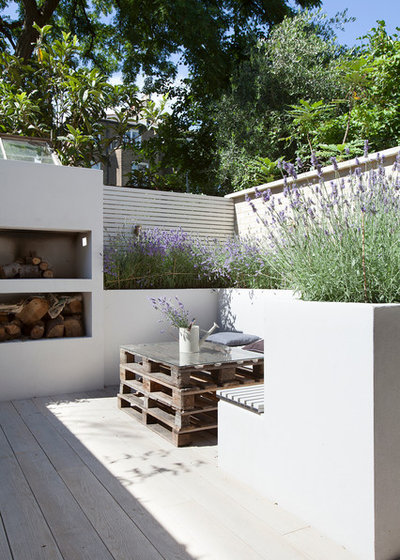 Daybed outdoor selber bauen  Gartenmöbel aus Paletten selber bauen