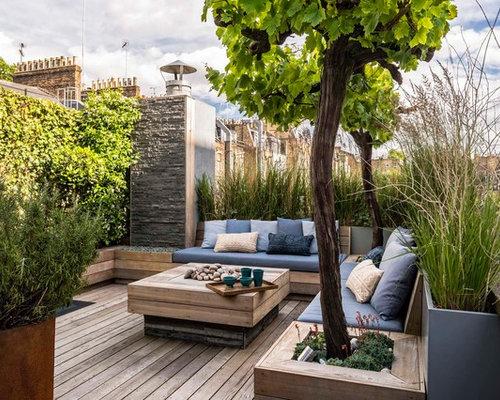 moderne terrasse london ideen f r die. Black Bedroom Furniture Sets. Home Design Ideas