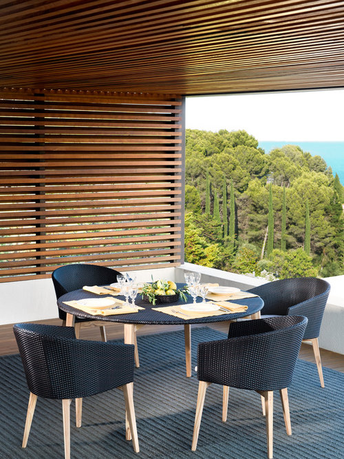 point arc garden furniture outdoor dining tables