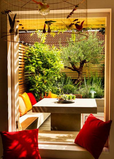 Mediterranean Deck by Adolfo  Harrison Gardens
